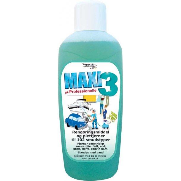 MAXI 3 rengøring 1 ltr.