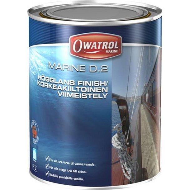 Owatrol D2 olie 1 ltr.