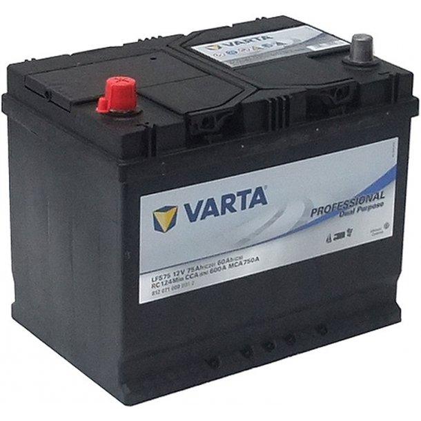 Batteri LFS VARTA 75Ah