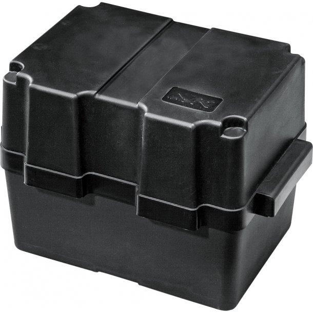 Batterikasse plast. 280x195x230mm