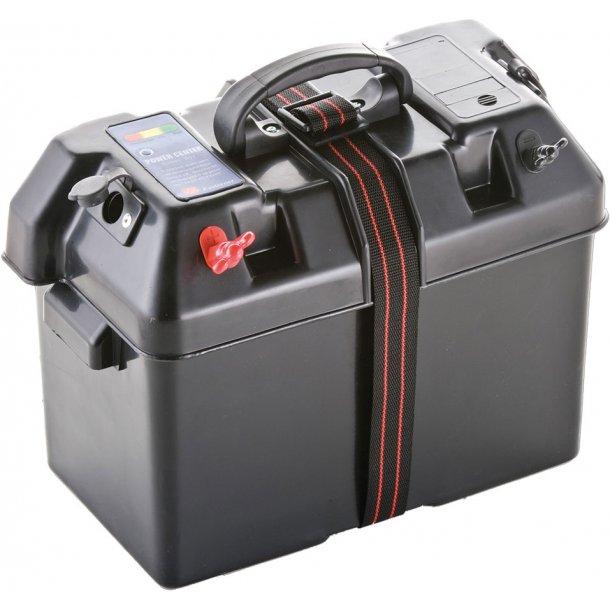 Batteriboks Accu med ind- og udtag