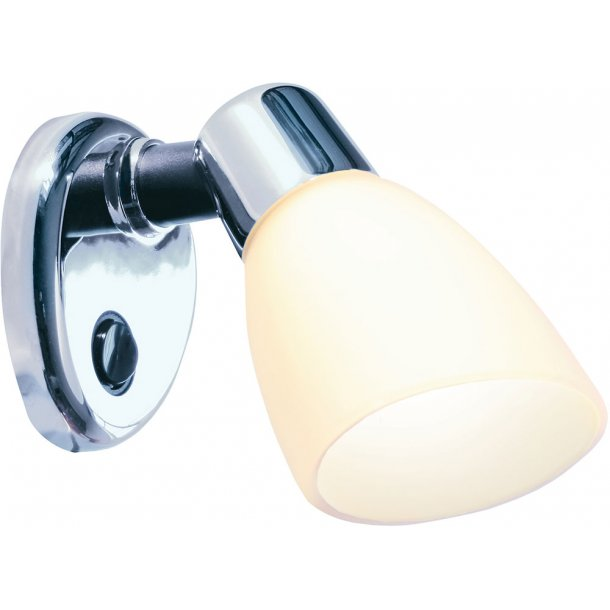 Frilight lampe OPAL 2 Chrome