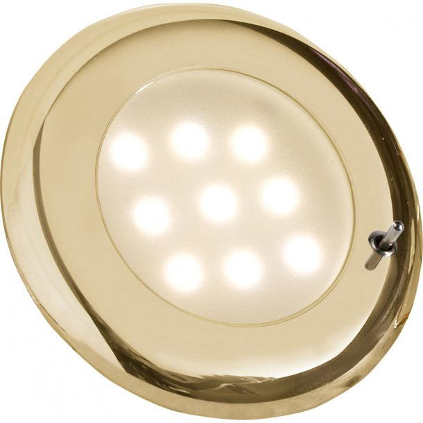 Frilight lampe NOVA Guld LED m/afbryder