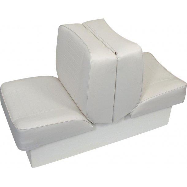 Lounge sæde USA Hvid