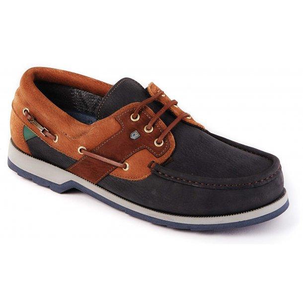 DUBARRY Clipper sko navy/brown