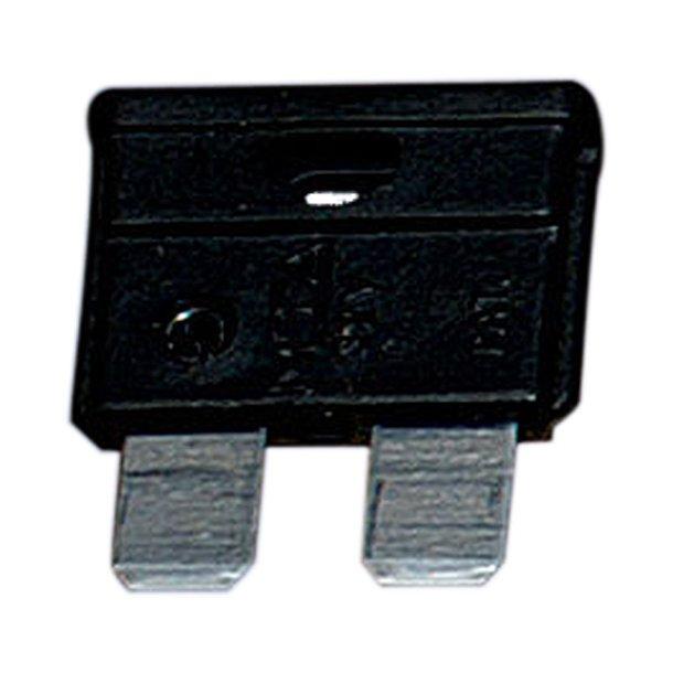 Fladsikring 1 amp. sort 5-stk.