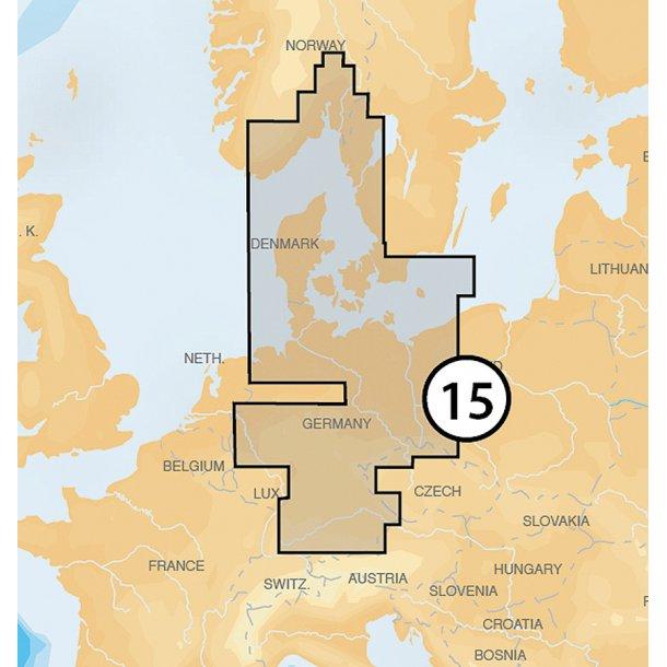 Søkort SD XL3 15P+ Danmark-Norge-SØ Sve