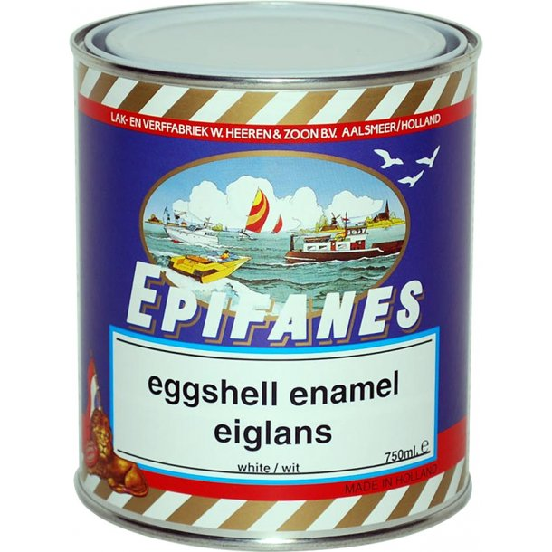 Epifanes satin emalje 750ml hvid