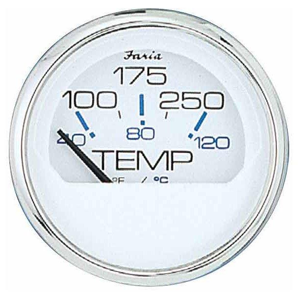 Faria Temperaturmåler spunsilver