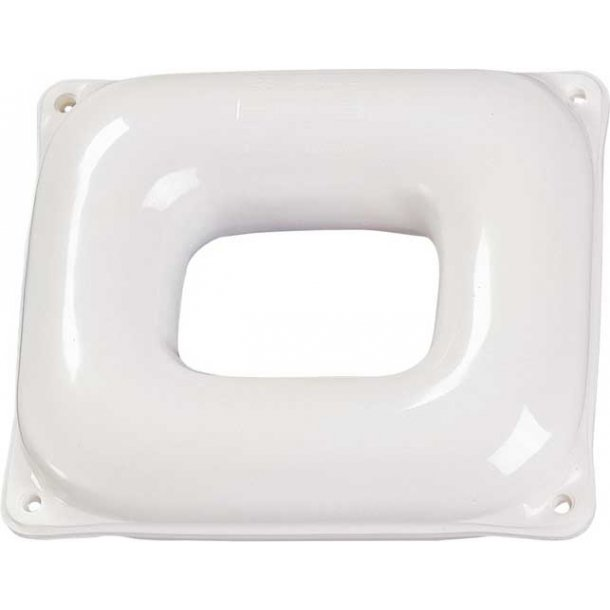 Fender firkantet 1416 hvid