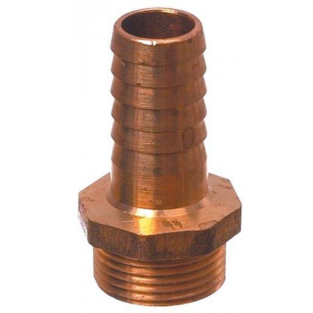 Slangestuds bronze 2 1/2'' 63mm