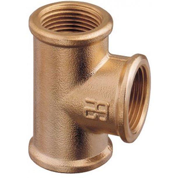 T-stykke bronze 1 1/2''