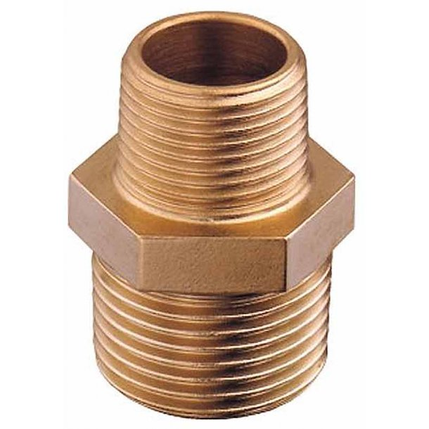 Reduktionsnippel bronze udv.1 1/2-1 1/4'