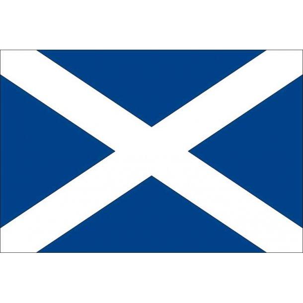 Gæsteflag Skotland trykt 30x45cm