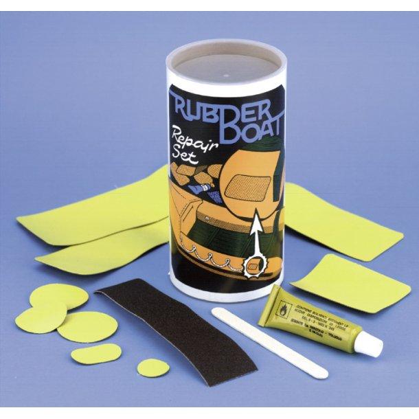 Reparationssæt f/gummibåd gul