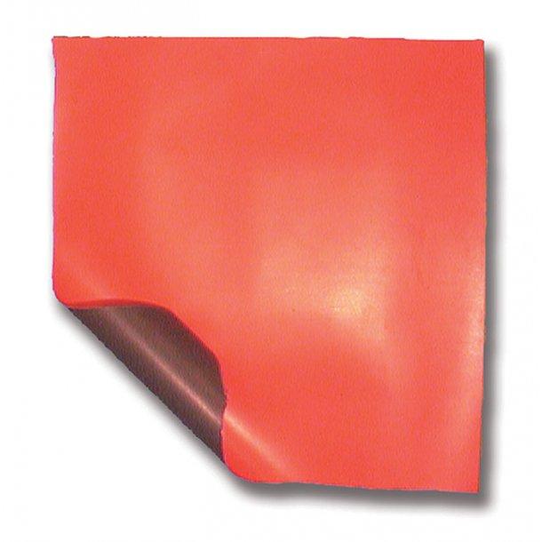 Neopren lap 30x30cm f/gummibåd orange