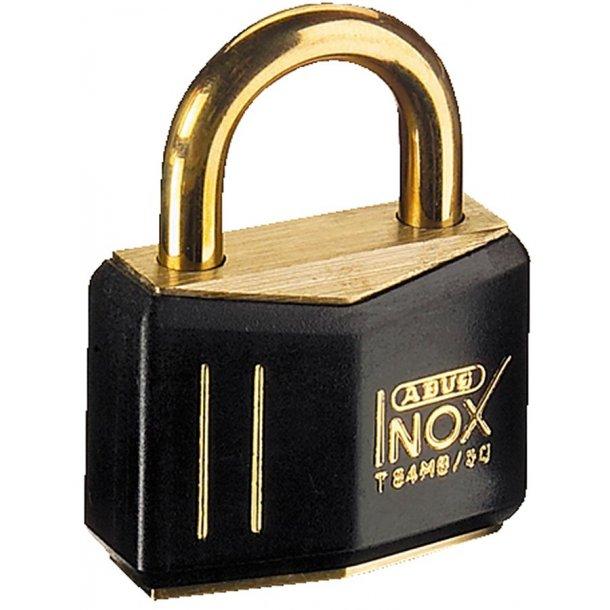 Hængelås Abus Inox Black/gold 30mm