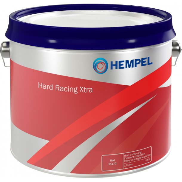 Hard Racing XTRA rød 56460 2.5 ltr.
