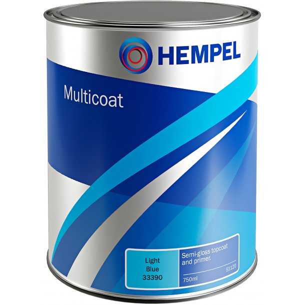 Multicoat (Farvolin) rød 50800 750ml