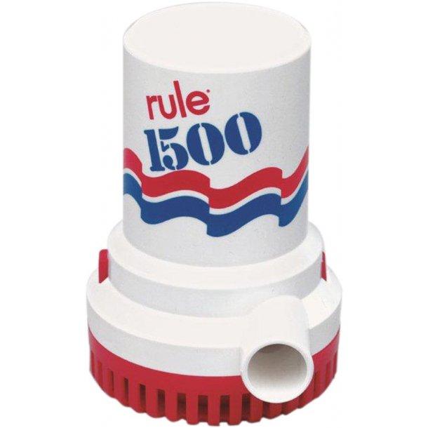 Pumpe Rule 1500/24v