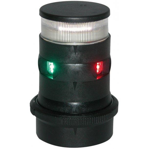 Lanterne Aqua-34 LED 3-farvet/anker