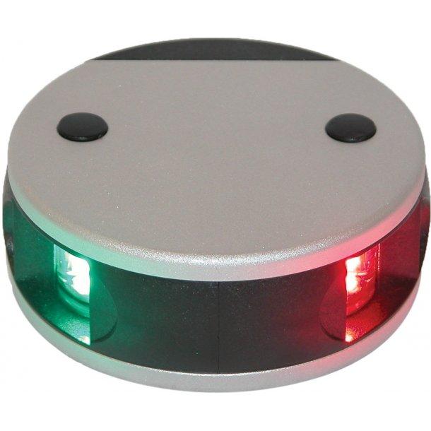Lanterne Aqua-34 LED 2-farvet stb/bb alu