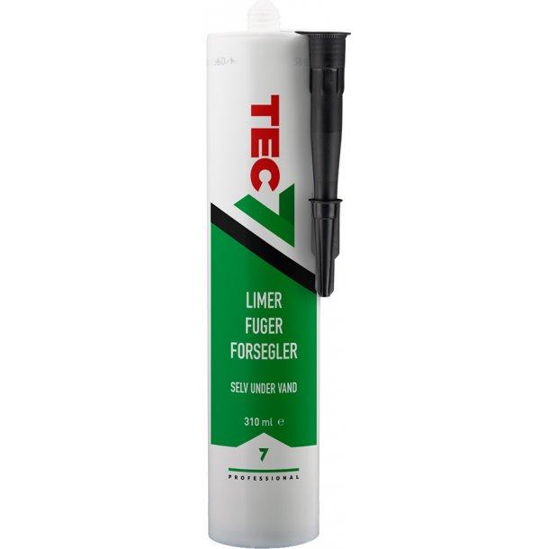 Tec7 sort 310 ml.