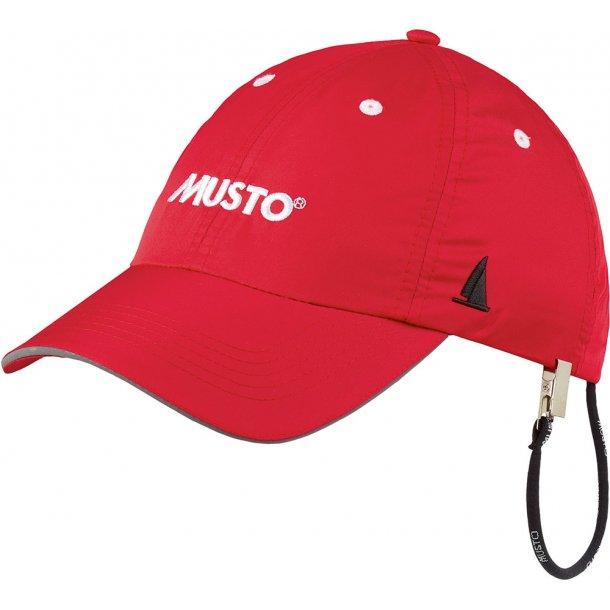 MUSTO EVO Fastdry cap rød
