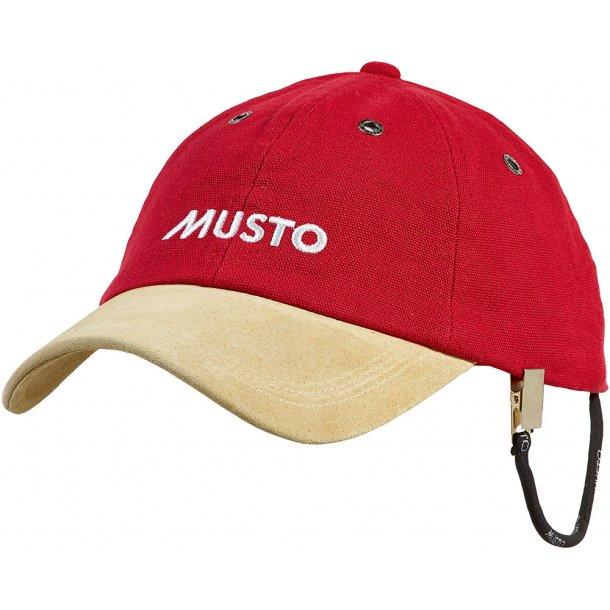 MUSTO EVO Original cap red