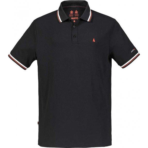 MUSTO Evo Pro Lite Polo Black