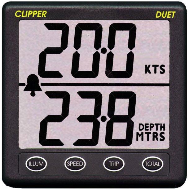 Nasa Clipper DUET log/lod