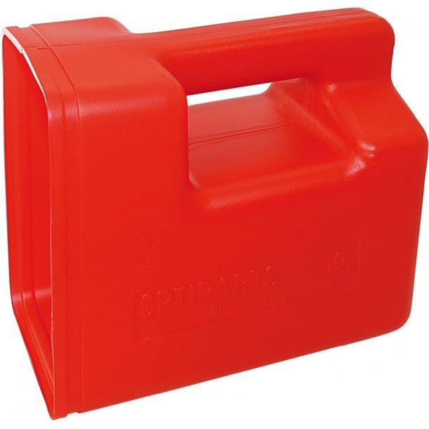 Optiparts Øsekar 3.5 liter - rød