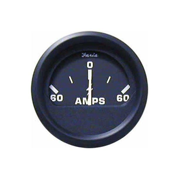 Faria Amperemeter sort