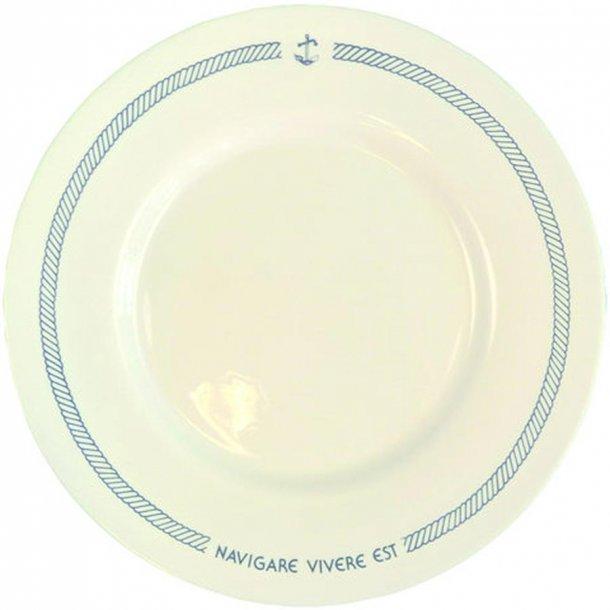 Navigare tallerken flad lille 6 stk.