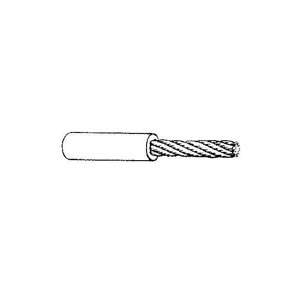 Søgelænder blød Wire 4-6 hvid