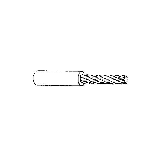 Søgelænder blød Wire 4-8 hvid