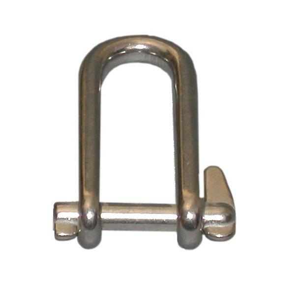 Sjækel RF smedet m/nøgle 5mm L40mm
