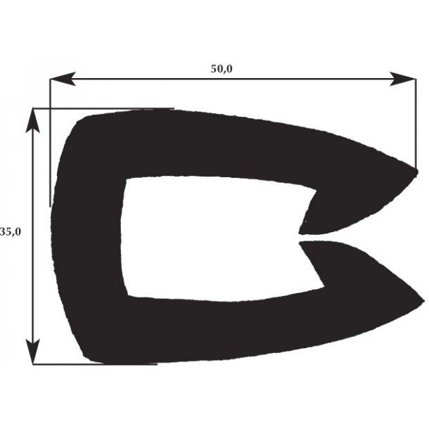 Fenderliste 35x50mm