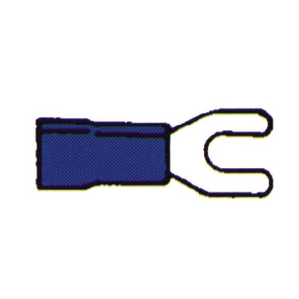 Kabelsko gaffel blå 1.5-2.5 10 stk
