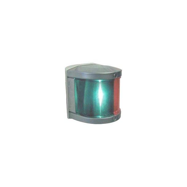 Lanterne Aqua-34 LED 3-farvet/anker hvid