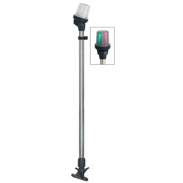 Lanterne LZ på stander 3-farvet 64cm vip
