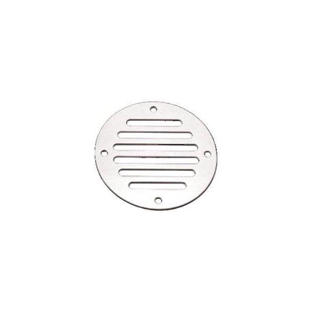 Ventilations rist Ø 83mm plan rustfri