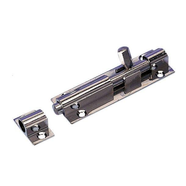 Skudrigler forcromet messing 75mm