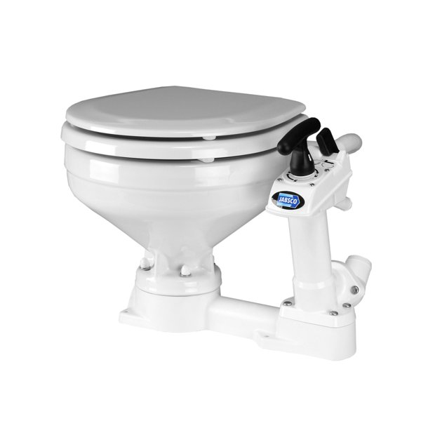 ITT-JABSCO toilet stor skål manuel