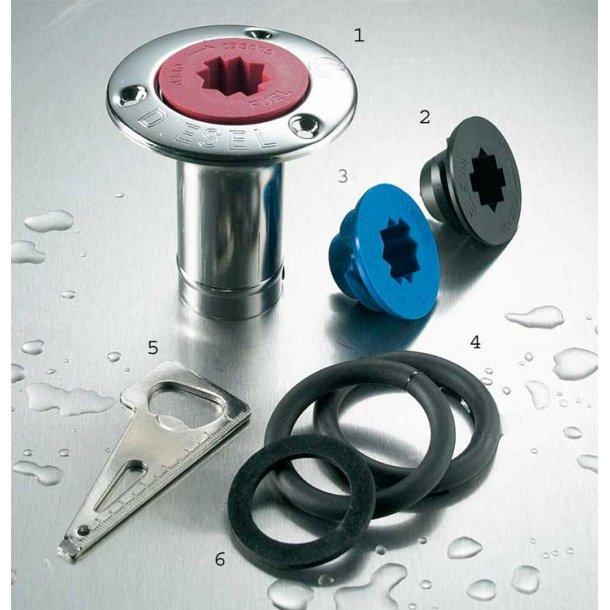 Dækspåfyldning krave/dækspakning