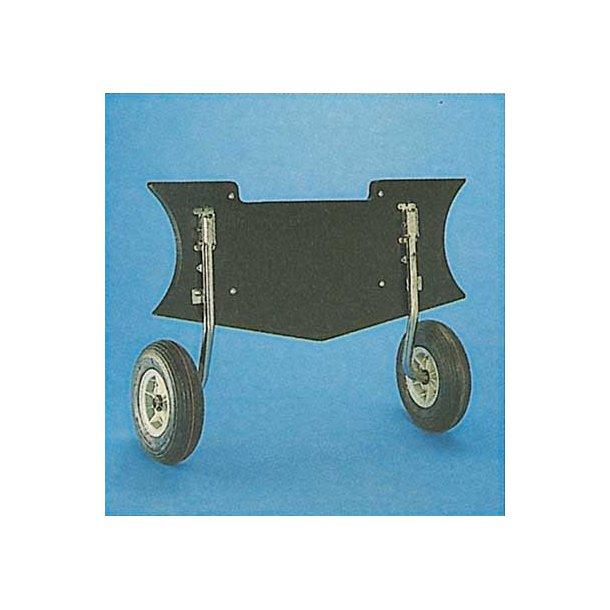 Transporthjul t. gummibåde max. 230 kg.