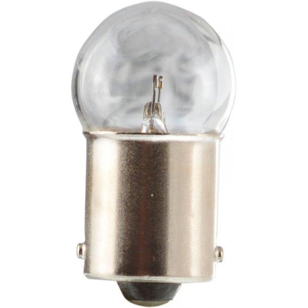 Glødelampe BA 15s 12v 10W