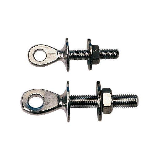Øjebolt rustfri stål L 35mm Ø 8.5mm