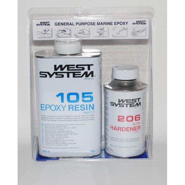 A pakke 1.2kg R105 H206 Langsom WS