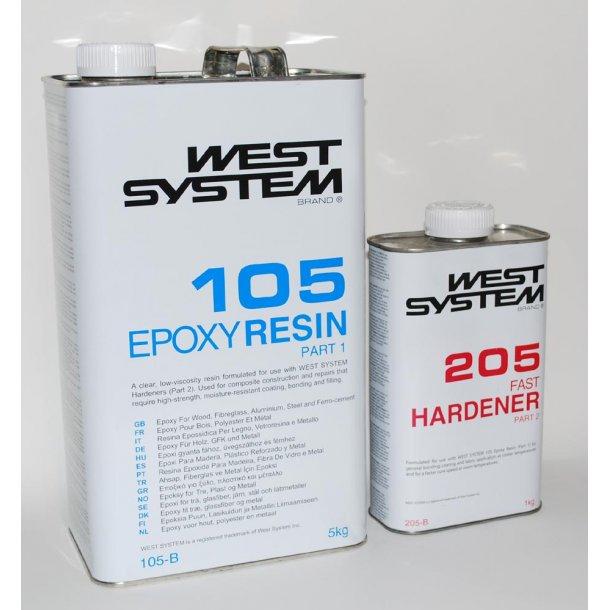 B pakke 6kg R105 H205 Hurtig WS